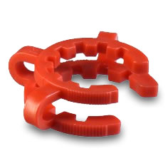 Keck Clip 14mm Red