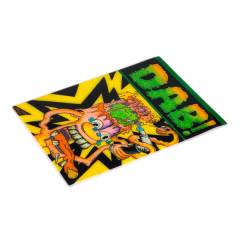 "Trog x Oil Slick Canvas Mat ""DAB!"""