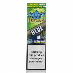 Juicy Jay's Hemp Wraps Blue