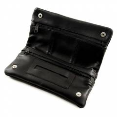 Agung Leather Pouch Black