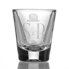Sheldon Black Shot Glass