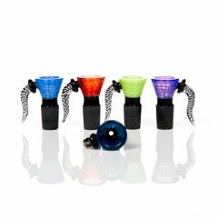 Ozbongs Premium 18mm Horned Slide Slime