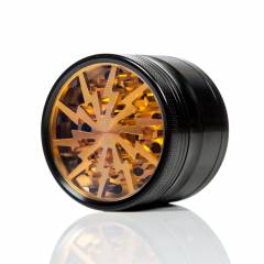 Blackbird Grinder 63mm 4 Part Gold