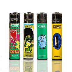Clipper Lighters Pack Of 4 Random
