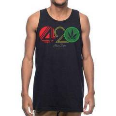 Stonerdays Tank Top 420 Rasta