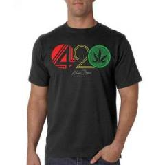 Stonerdays Men's '420 Rasta' Tee