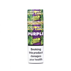 Cyclones Hemp Cones Grape 2PK