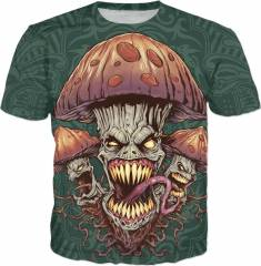 Brian Allen Tee Evil Mushrooms