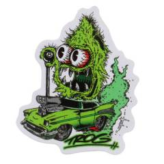 Trog Nug Rider Sml Decal