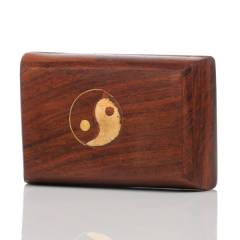 Wooden Storage Box YinYang
