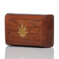 Wooden Storage Box Leaf