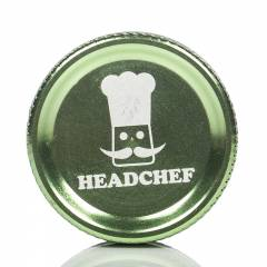 Head Chef 2pc Grinder 30mm Green
