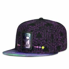 Grassroots Snapback David Bowie Purple Galaxy Fitted