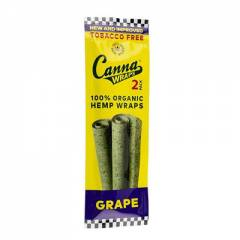 Canna Wraps Terpene Infused Hemp Wraps - Grape