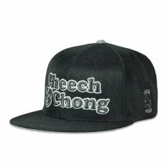Grassroots Cheech & Chong Black Hemp Fitted