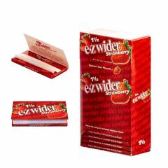 E-Z Wider 1 1/2  Wide Papers Strawberry
