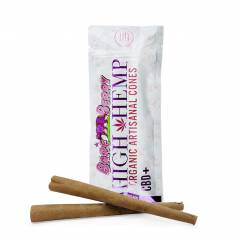 High Hemp Organic Artisanal Cones - Berry