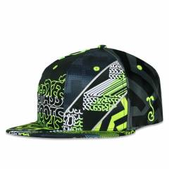 Grassroots Snapback All over Neon Glitch