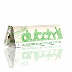 Dutch Organic 1 1/4 Rolling Papers + Tips