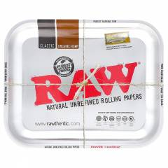 Large RAW Rolling Tray SILVER