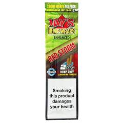 Juicy Jay's Hemp Wraps Enhanced Red Storm