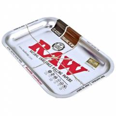 Medium RAW Rolling Tray SILVER