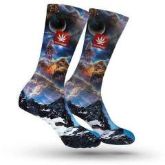 StonerDays Space Mountain Crew Socks