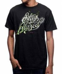 Stonerdays Men's 'Stay Blazed Script' Tee