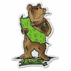 Trog Cali Bear Decal
