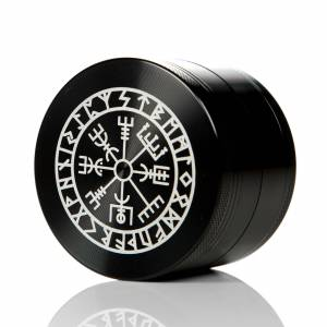 VEGVISIR 63mm 4 Part Grinder Black