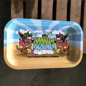 OzBongs Metal Rolling Tray