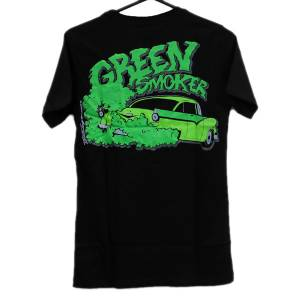 Trog T-Shirt Green Smoker - Black